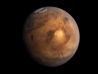 El agua que hubo en Marte ahora podría estar dentro de las rocas