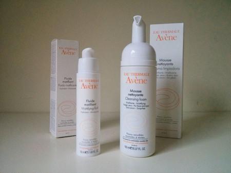 Cuidados para pieles mixtas: probamos la Espuma Limpiadora y Fluido Matificante de Avène