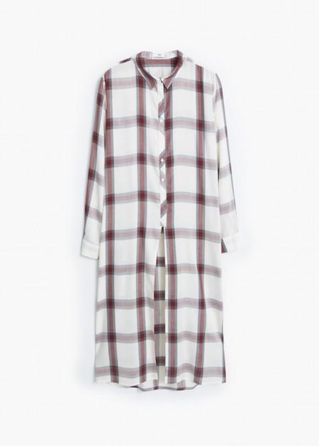 Maxi Camisa Cuadros