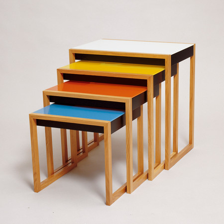 Nesting Tables Albers Sq 1