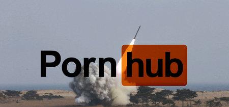 Las visitas de PornHub en Hawái se disparan tras la falsa alarma de ataque nuclear