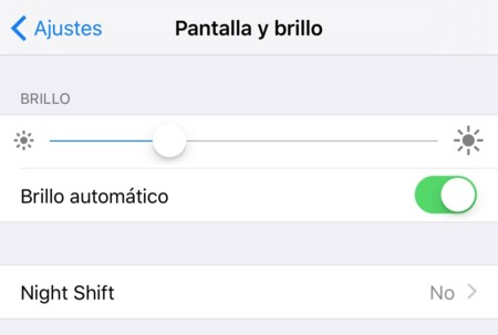 Pantalla Brillo
