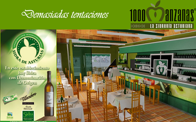 1.000 Manzanas, franquicia en torno a la sidra asturiana en breve en España