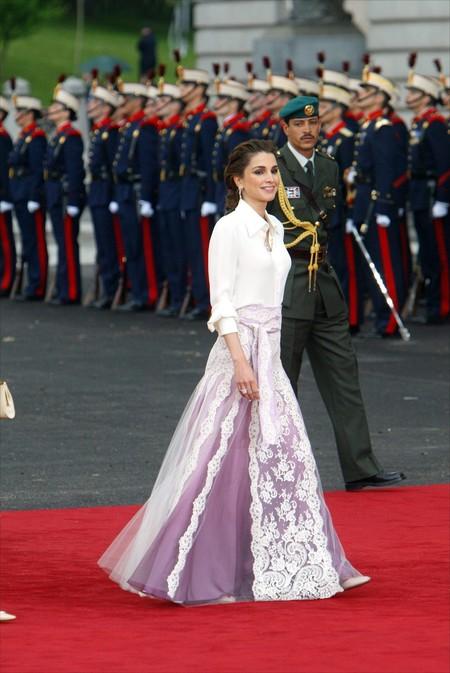 Rania De Jordania Boda Letizia Y Felipe