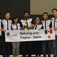 Estudiantes mexicanos se coronan bicampeones en la RoboCup 2017 en Nagoya, Japón