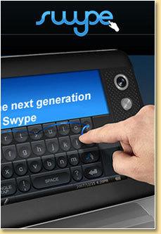 Swype: nuevo método de entrada de datos del inventor del T9