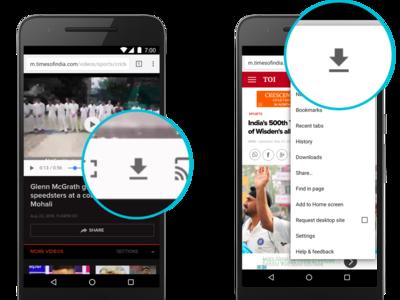 Así puedes descargar una página web para verla sin conexión en Chrome para Android