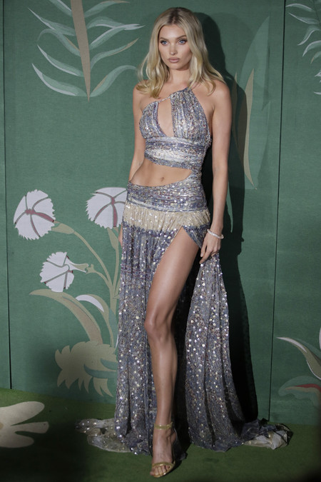 Elsa Hosk green carpet fashion awards 2019