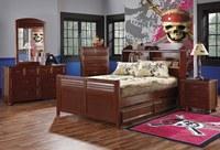 Dormitorio infantil de Piratas del Caribe