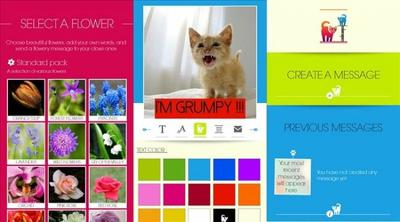 Say it with Flowers y Say it with Cats, usa tu Windows Phone 8 para crear mensajes especiales