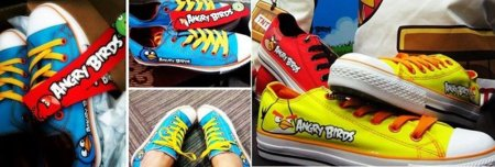 Zapatillas de Angry Birds