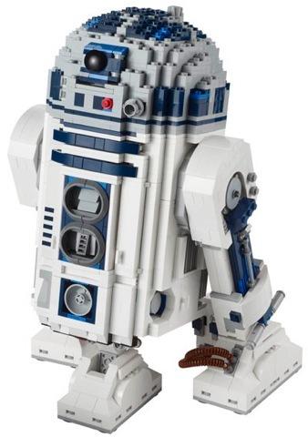 Lego R2-D2, id preparando la cartera