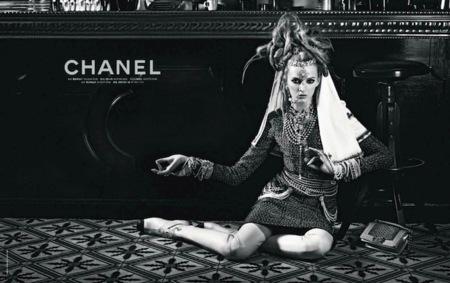 Campaña Chanel Pre-Fall 2012: las diosas indias están en París