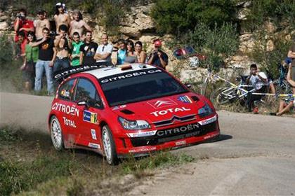 Doblete de Citroën en el Rally Catalunya