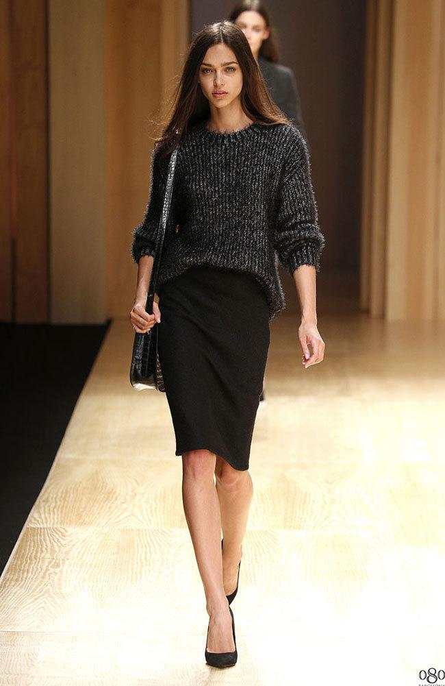 Foto de Mango abre la 080 Barcelona Fashion con su colección Otoño-Invierno 2014 y Toni Garrn (10/41)