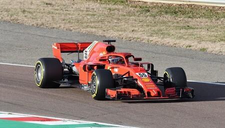 Carlos Sainz Fiorano Ferrari F1 2021