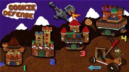 Defiende a las galletas de malignos robots en Cookie Defense