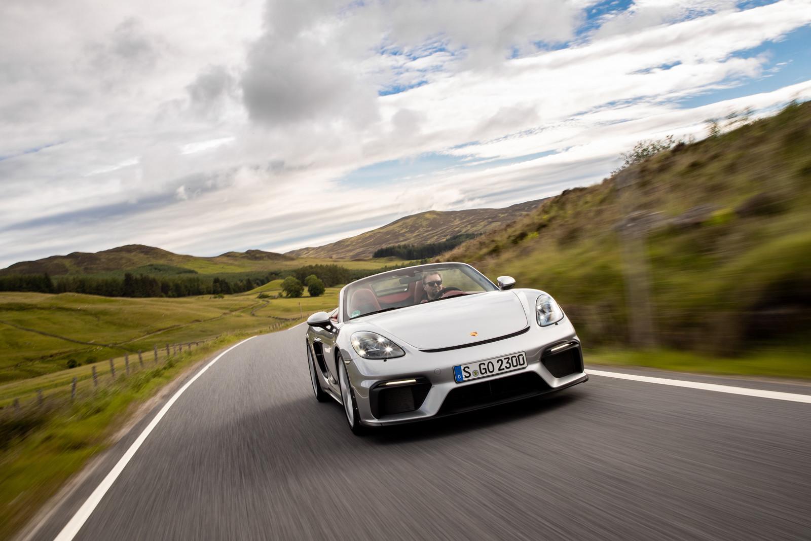 Foto de Porsche 718 Spyder (prueba contacto) (138/296)