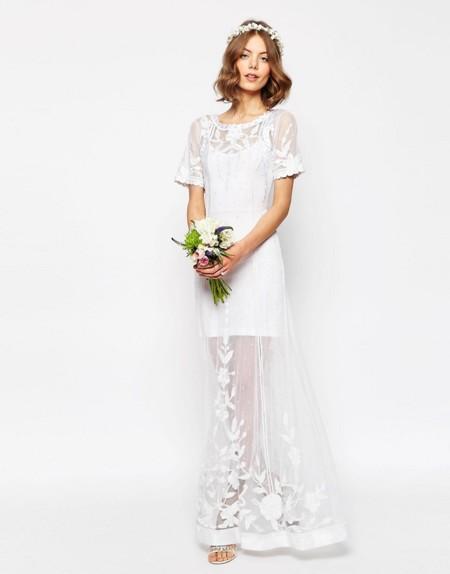 Vestido Novia Asos Bridal Vintage