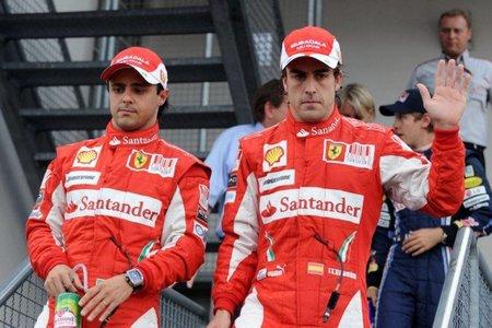 GP de Alemania 2010: Ferrari manipula el Gran Premio de Alemania