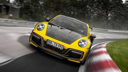 TechArt GTstreet R, el preparador alemán nos muestra el 911 Turbo S más radical hasta ahora