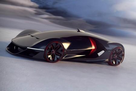 Así imaginan los estudiantes de diseño el Ferrari de 2040