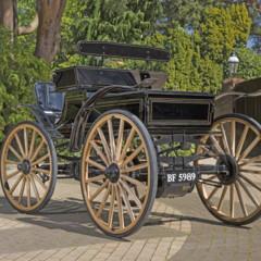 Foto 2 de 7 de la galería 1907-victor-high-wheel-electric-runabout-1906-pope-waverley-victoria-phaeton en Motorpasión México
