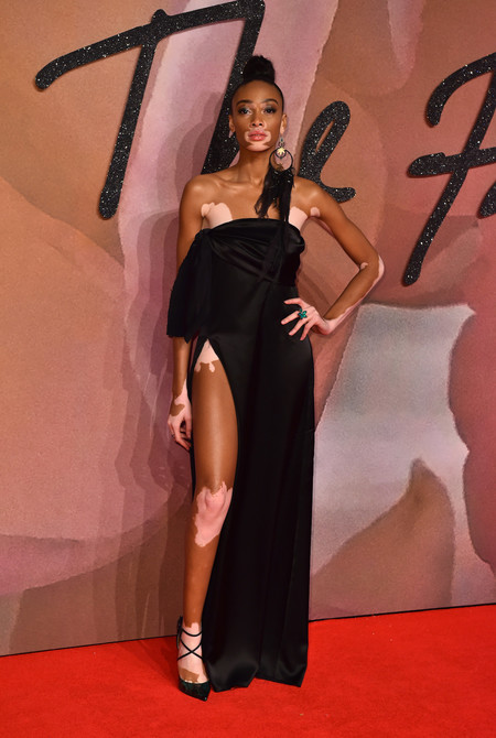 British Fashion Awards 2016 Winnie Harlow