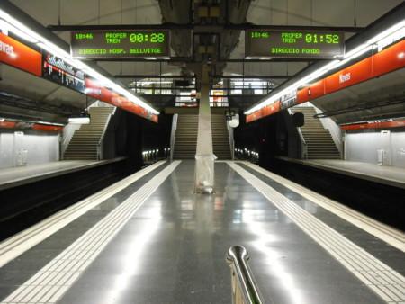 Navas Inside Barcelona Metro