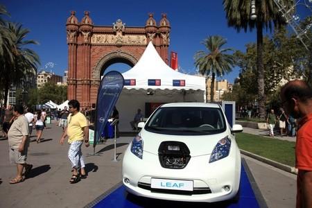 Nissan LEAF en EXPOelectric