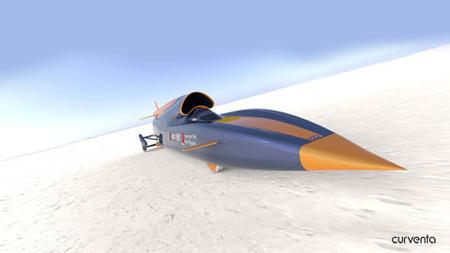 Proyecto Bloodhound, 1600 Km/h sobre ruedas
