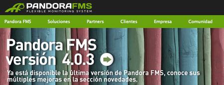 Pandora FMS, llega la versión 4.0.3 del sistema de monitorización español