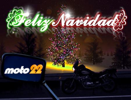 Moto22 os desea unas Felices Fiestas