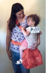 Sidekick: transporte para bebés y bolso, dos en uno