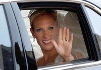 Hannah Martin, make up artist de Bobbi Brown, creó el look de novia de Zara Phillips