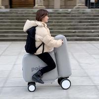 Poimo, una bicicleta eléctrica inflable que se puede guardar en una mochila