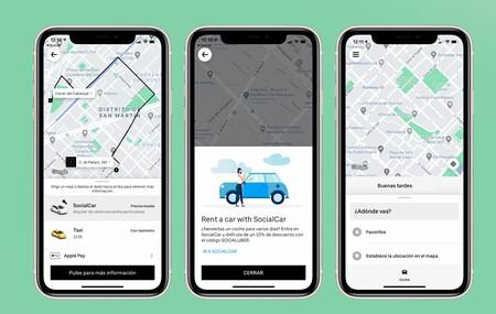 Uber regresa a Barcelona con un aliado inesperado, el taxi tradicional: también ofrecerán alquiler de coche compartido