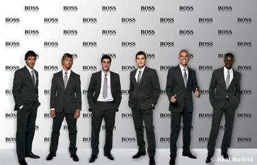 Los futbolistas del Real Madrid vestirán de Hugo Boss