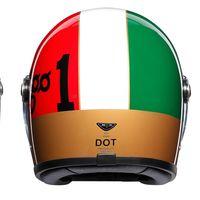 AGV rinde tributo a Giacomo Agostini con estos preciosos cascos modernos de corte retro
