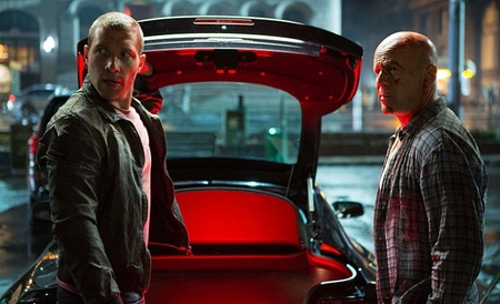 Bruce Willis y Jai Courtney en