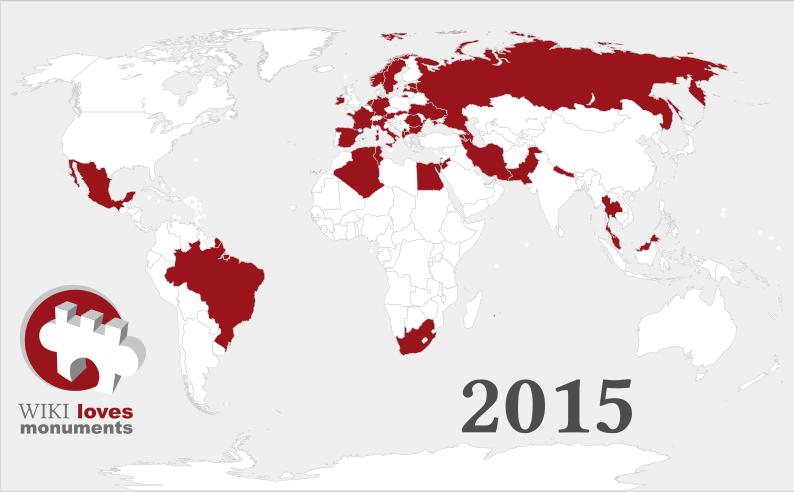 Wiki Loves Monuments 2015, abierta la nueva edición del concurso fotográfico de Wikipedia