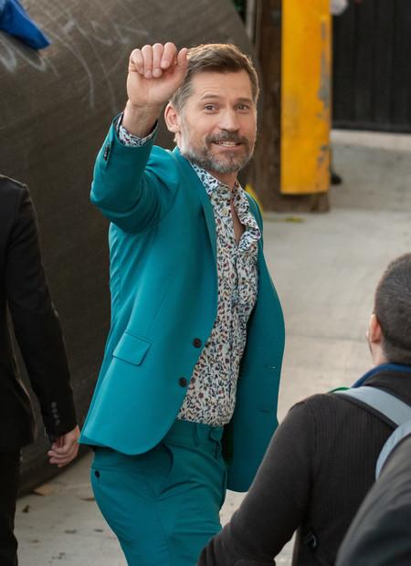 Nikolaj Coster Waldau Blue Suit Trend 2