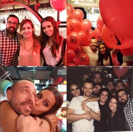De las fotos de la 'boda' de Cristina Pedroche al babyshower de Tania Llasera