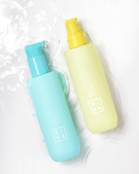 The Bluer Gel Cleanser The Yellow Oil Cleanser High Res