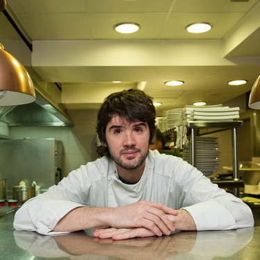 Así es la cocina de Baluarte, el estrella Michelin de Soria capital donde manejan como nadie setas y trufas