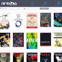 Nimbooks te permite organizar todos tus eBooks, cómics y revistas en la nube