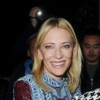Calentando motores: empiezan las fiestas pre-Globos de Oro y Cate Blanchett luce el look ganador