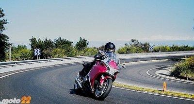 Honda VFR 1200F, la prueba: viajar en primera clase