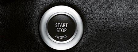 Boton start-stop BMW