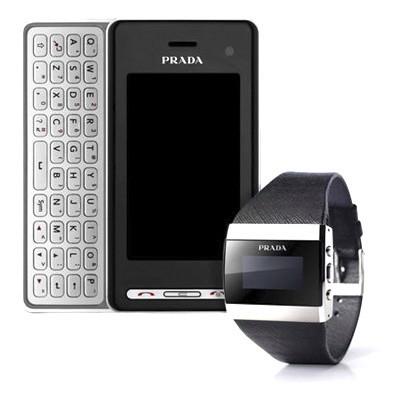El nuevo móvil LG Prada viene con reloj